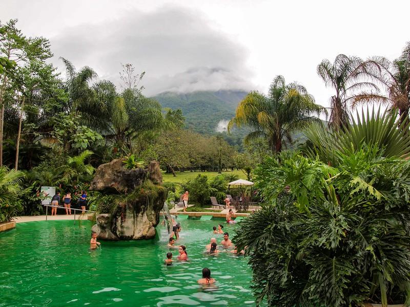 Paradise Hot Springs in La Fortuna, Costa Rica