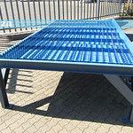 SKU: P-TABLE/1530/P, 1500×3000mm Water Cutting Steel Table for MetalWise Lite