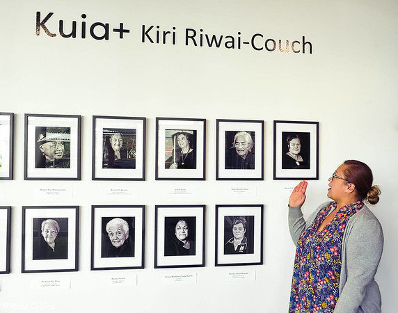 Kiri Riwai-Couch Exhibition, Aratoi Museum 2018