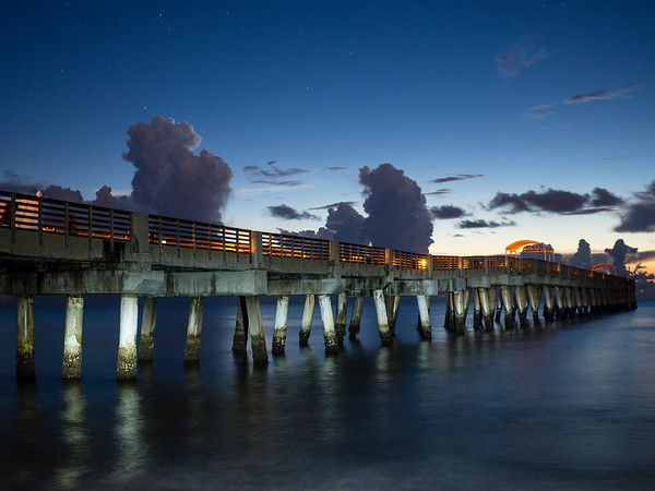 Sunrise Lake Worth Pier