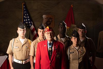 "Hershel ""Woody"" Williams - Gulf Coast Gold Star Families Memorial Monument Fundraiser"