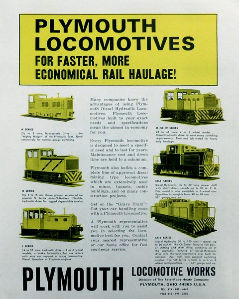 Plymouth Locomotives