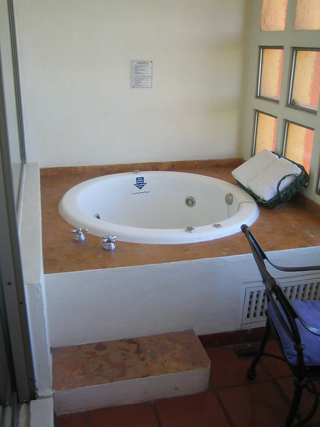 We had our own jacuzzi on our balcony.  We used it almost every night and it was my favorite thing about our room.