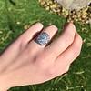 1.82ctw Diamond Cluster Ring 11
