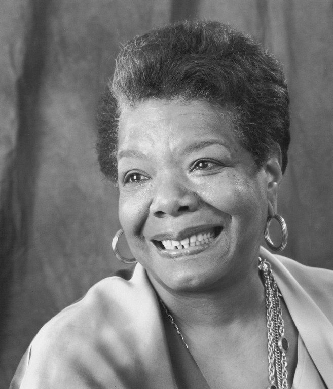 . Maya Angelou, 1994. Photo by Steve Dunwell. Denver Post Library photo archive