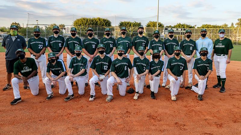 Ransom Eveglades Baseball Photo Shoot, 2021