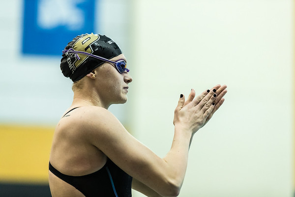 Women's Swimming and Diving BigTen Championship Day 2 Finals 2017-2-16