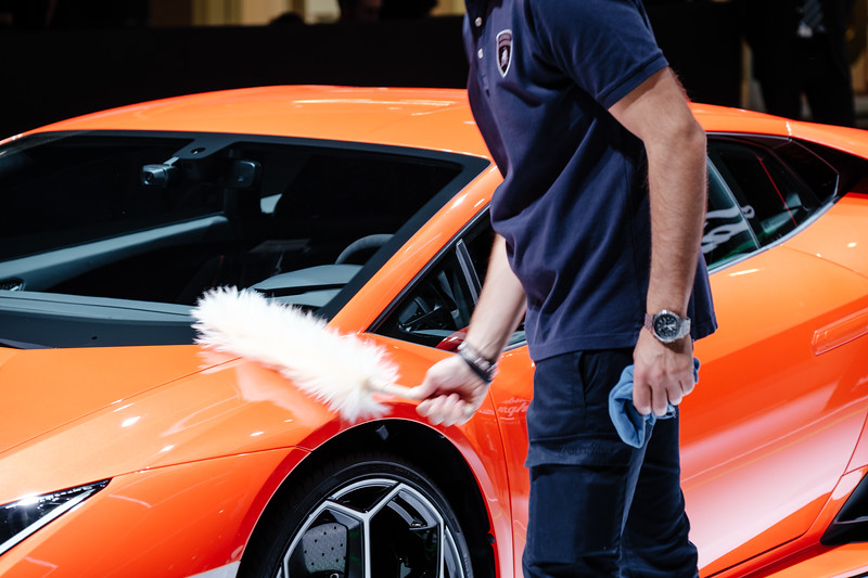 Dusting off the lamborghini - Samuel Zeller for the New York Times