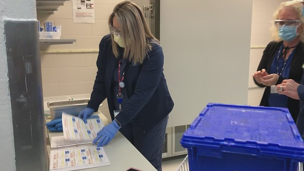HFWH Vaccine Arrival