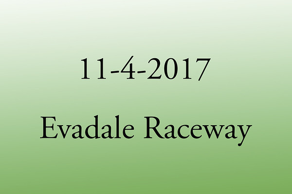 11-4-2017 Evadale Raceway 'TXLA Outlaw List Race and T&T'