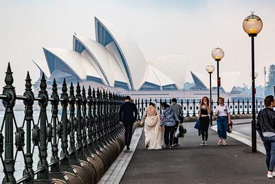 Sydney Australia ; Sydney Opera House, Sydney Harbor,  Sydney Circular Quay, Sydney Harbor Bridge