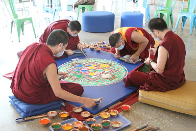 Tibetan Monks Sacred Arts Tour