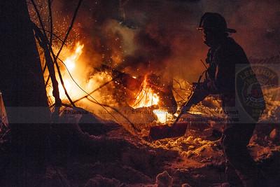 2021-02-21 - LVFD response trailer fire