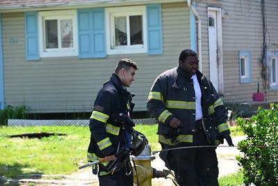 Hagerman Brush Fire  Hampton Ave &  Bourdois Ave  {2021.05.17}