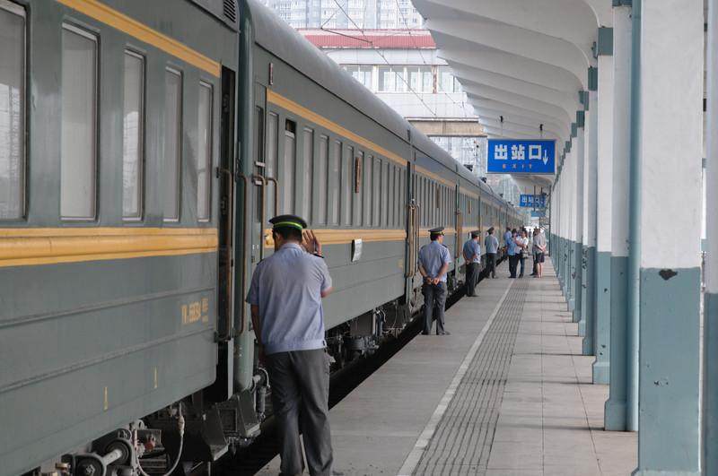 Der vorletzte Halt vor Peking.