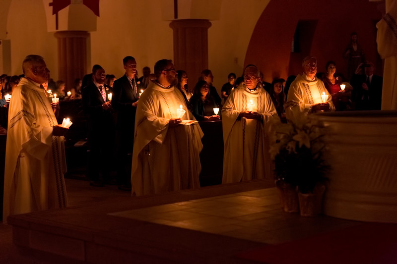 Easter Candle procession