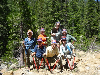 2017 Sission-Callahan National Recreation Trail, Shasta-Trinity NF (California)