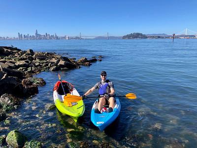 Oakland Estuary Kayaking: Oct 20, 2019