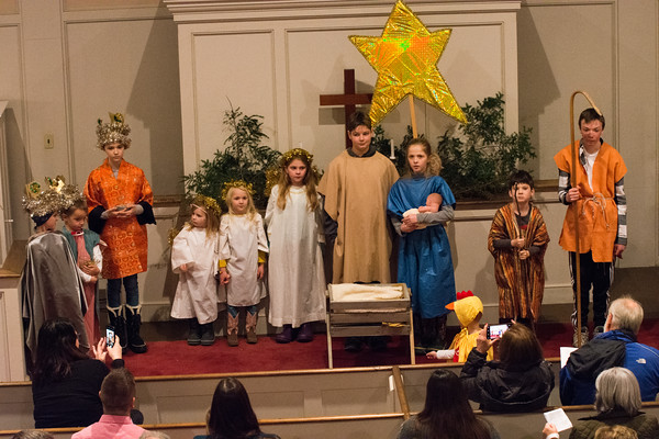 Community Church Holiday Pageant