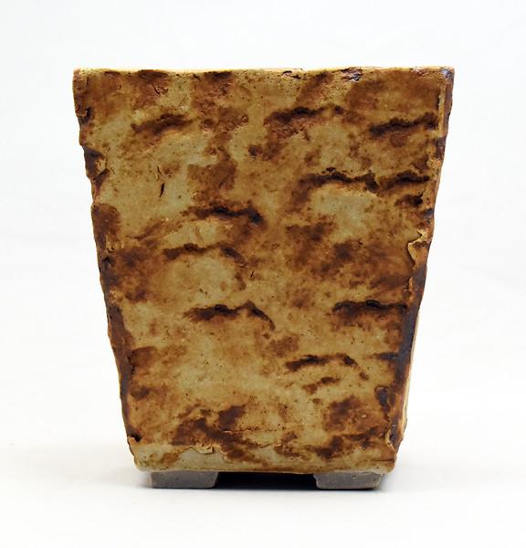Rock impressed pot