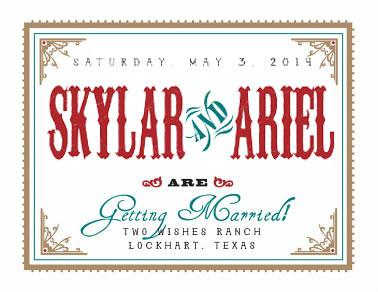 The Wedding of Skylar & Ariel