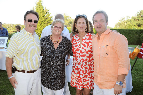 Jim DeSrosiers, Stephanie Cornish, Maureen Bluedorn, Majo  Pracenez photo by Rob Rich © 2010 robwayne1@aol.com 516-676-3939