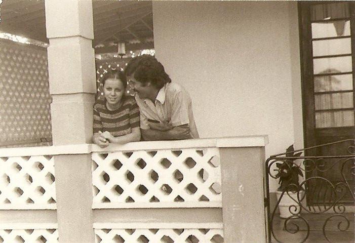 Lena Sebastiao Vaz e marido Carlos Nascimento