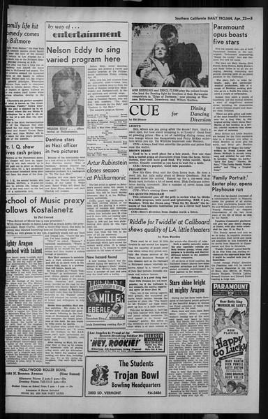 Daily Trojan, Vol. 34, No. 132, April 22, 1943