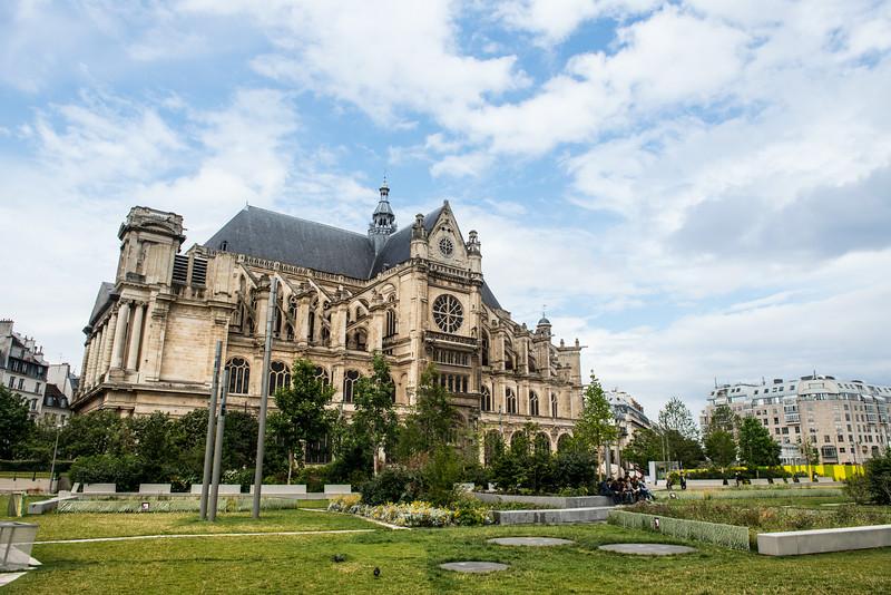 Église St-Eustache - Paris