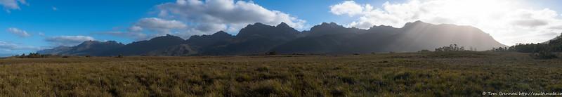 Western Arthurs panorama