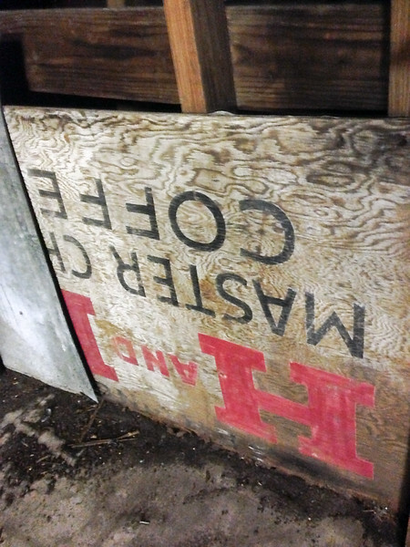 Found Sign