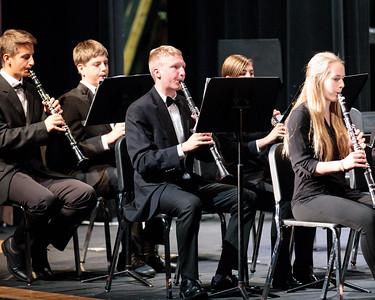 MHS Percussion, Concert Band, Wind Ensemble Performances