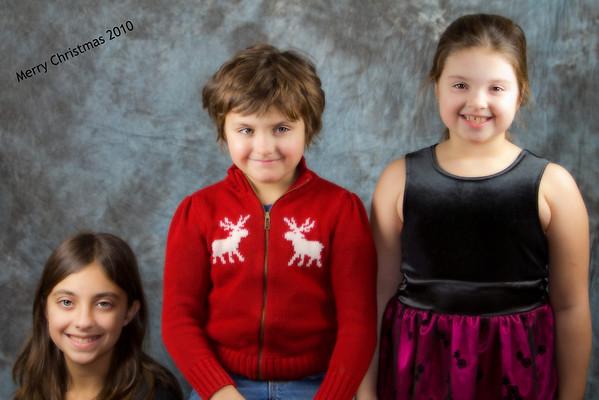 Christmas 2010 Portraits