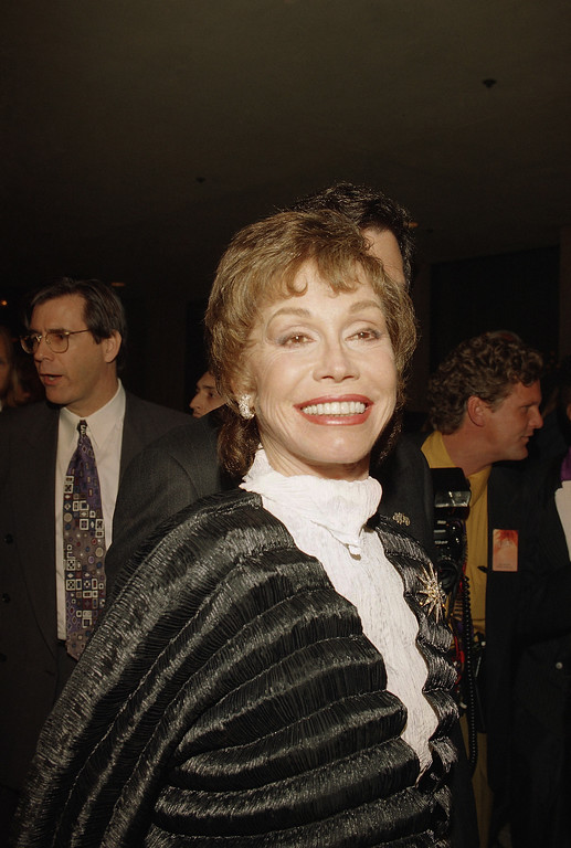 . Mary Tyler Moore, Nov. 30, 1993. (AP Photo)