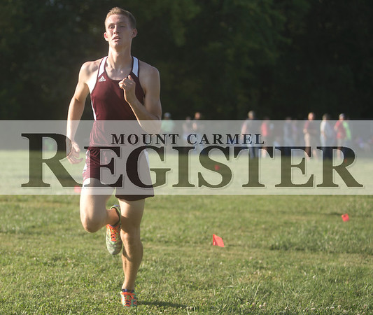 2016 - MCHS Cross Country vs Lawrenceville and Princeton