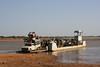 Crossing the River Bani, Mali