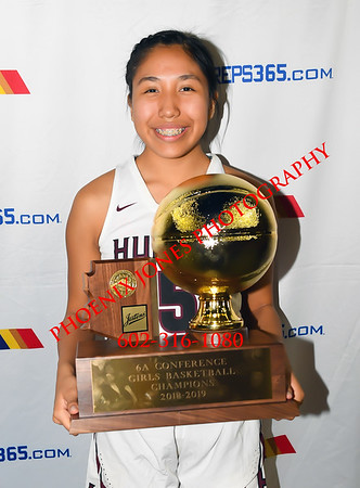 2-26-19 - Xavier College Prep vs. Hamilton (AIA 6A Final Awards) girls basketball