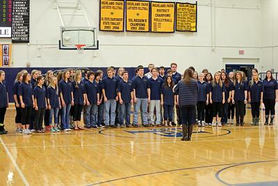 Varsity  Choir/Cheer/Belles  01/30/15