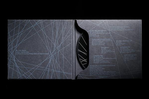 Pochette CD Bio + Larkian + Les Poissons Autistes, 2010