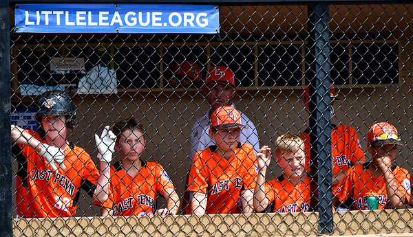8/7/2019 Mike Orazzi | Staff Pennsylvania during Wednesday's Eastern Regional Little League Baseball game at Breen Field in Bristol.