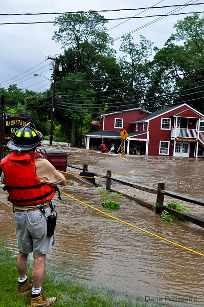 6-23-11 Saddle River, NJ Swift Water Rescue: East Allendale Road