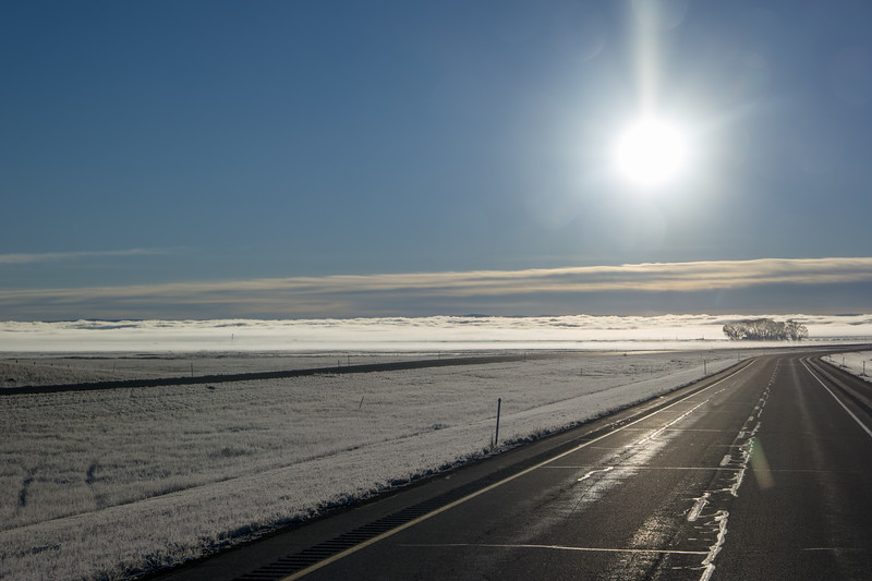 Laramie Valley Fog