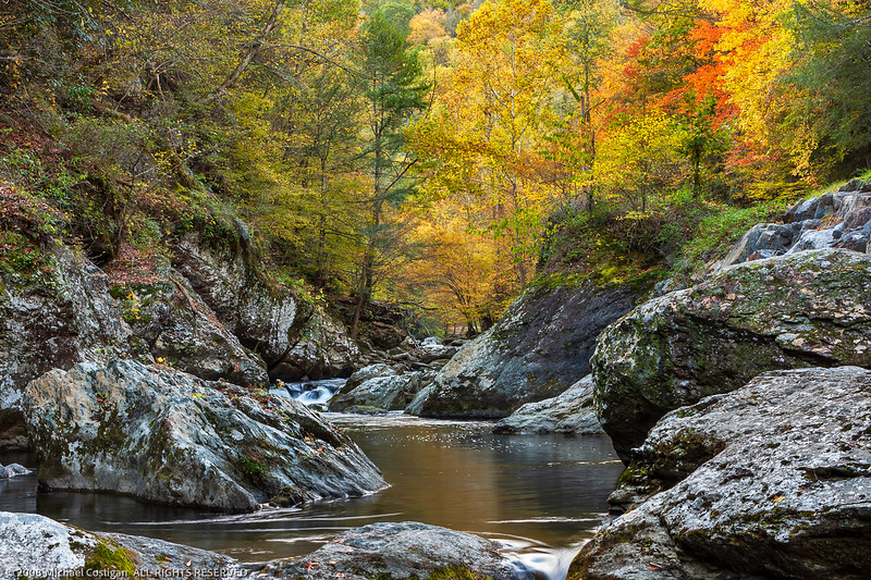 Fall Colors Along the Little River