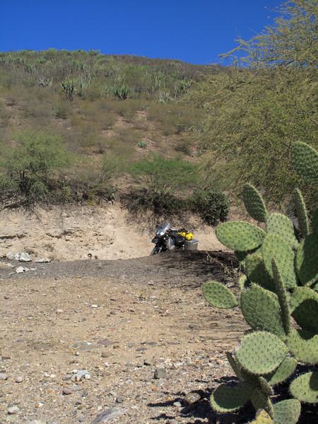Road from Oaxaca