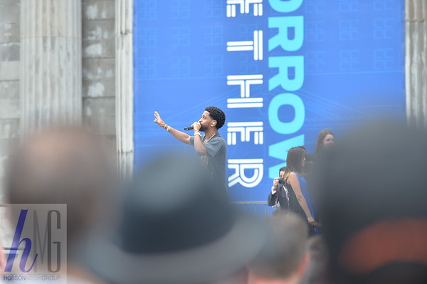 2018 Big Sean Performing at Train Station for Ford