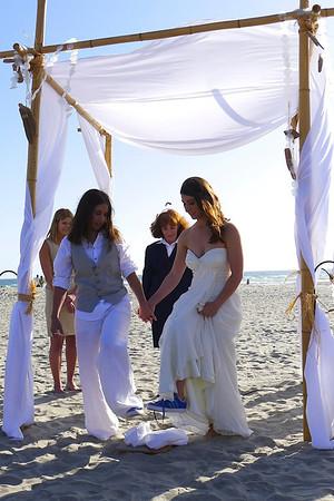 Leah & Erin wed