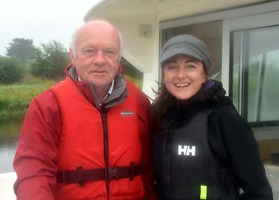 2016-08-21 John and Susanna Noone on 34B at Shannonbridge