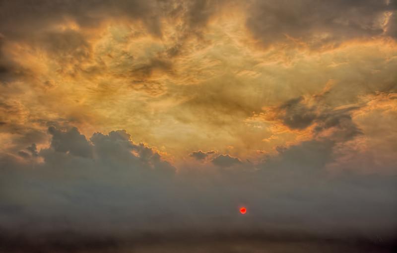 Bushfires, Grampians Mountains, Victoria, Australia