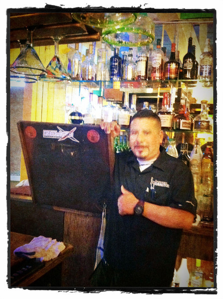 Our bartender!