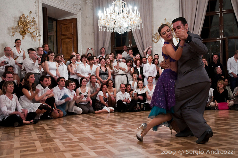 White Milonga: Diego and Angi final